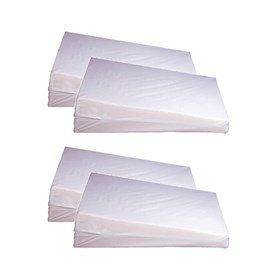 simmons beautyrest orthopedic wedge pillow size 4 pack