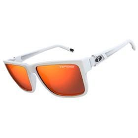 tifosi hagen xl smoke red lens sunglasses matte white