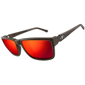 tifosi hagen xl clarion red lens sunglasses distressed bronze