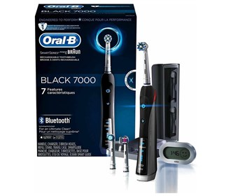 oral b precision 7000 black bluetooth