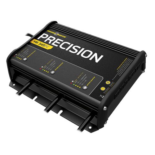 minn kota mk 345pc 3 bank precision on board charger