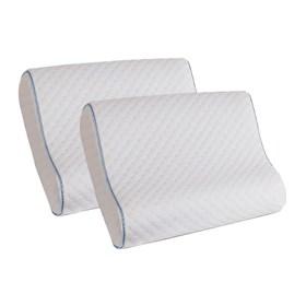 memory foam contour pillow 2 pack