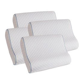 memory foam contour pillow 4 pack