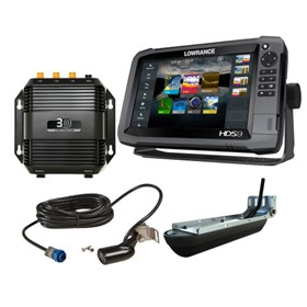 lowrance hds 9 gen3 83 200 structure scan 3d bundle