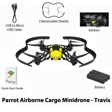 parrot travis airborne cargo minidrone