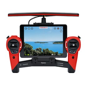 parrot skycontroller red