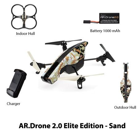 parrot ar drone 2 elite edition sand