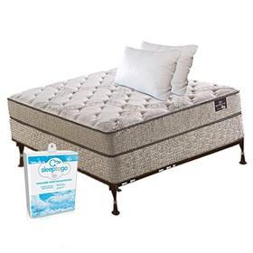 ferrera plush twin size mattress bundle package