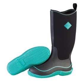 the muck boot company womens  hale black/jade