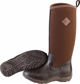 the muck boot company arctic adventure brown/black aztec