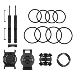 """<ul> <li><span class=""""blackbold"""">Quick-Release Kit</span></li> <li>For Multi Sport Training</li> <li>Quick Release Bracket</li> <li>Wrist Bracket</li> <li>Bike Mount</li> <li>2 Pins &amp; 2 Screws</li> <li>Bike Mount O-Rings</li> <li>Installation Screwdrivers</li> </ul>"""