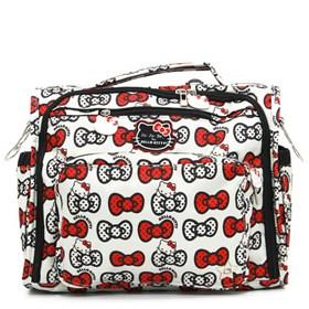 jujube hello kitty ats b f f diaper bag 1