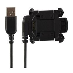 "<ul> <li><span class=""blackbold"">Charging Clip</span></li> <li>Recharges Watch Battery</li> <li>Plugs into Computer/Adapter Via USB Interface</li> <li>Transfers Data Between Watch &amp; Computer</li> </ul>"