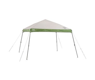 coleman 12 ft x 12 ft instant wide base canopy