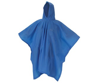 coleman youth eva poncho blue