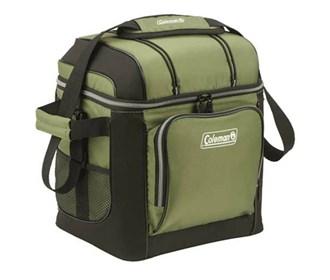 coleman 30 can cooler green