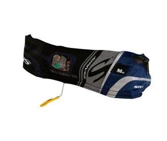 stearns 16g elite inflatable belt pack blue/black