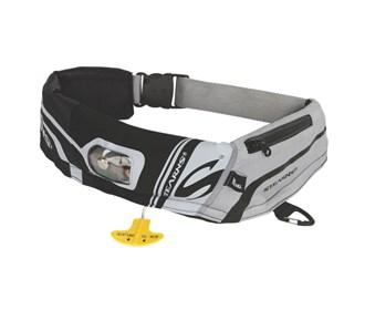 stearns 16m elite inflatable belt pack black/grey