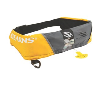 stearns 16 gram manual inflatable belt pack gold