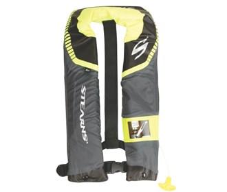 stearns c tek 24g auto manual inflatable life vest gray blue