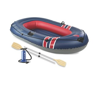 sevylor caravelle 300 3 person boat combo
