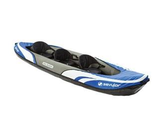 sevylor big basin 3 person kayak