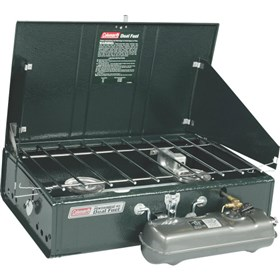 coleman powerhouse two burner stove