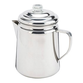 coleman stainless steel 12 cup coffee percolator