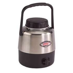 coleman 1.3 gallon stainless steel belted jug
