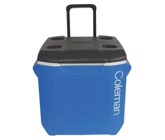 coleman 45 quart wheeled cooler