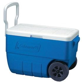 coleman 50 quart wheeled cooler