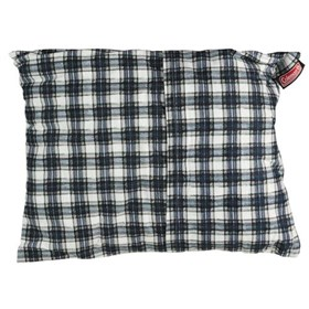 coleman fold n go large pillow flannel