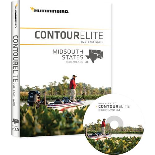 humminbird contour elite midsouth states version 3