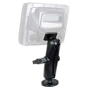 lowrance ram 1.5inch mark/elite 5inch series quick release mount