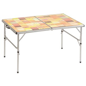 coleman pack away outdoor folding table