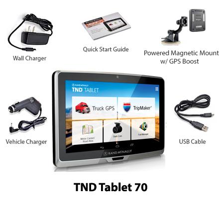 rand mcnally tablet 70