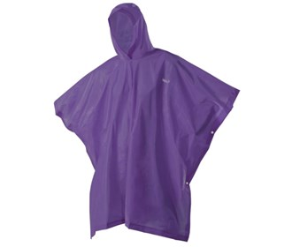 coleman youth eva poncho purple