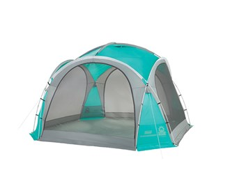 coleman 12 ft x 12 ft mountain view screendome shelter
