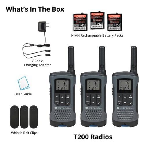 motorola t200tp 6 radios