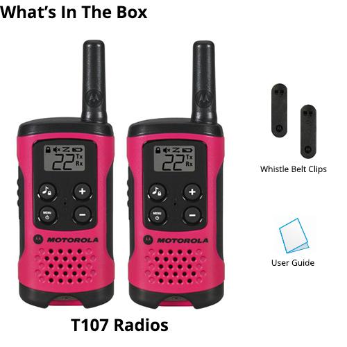 motorola t107 8 radios