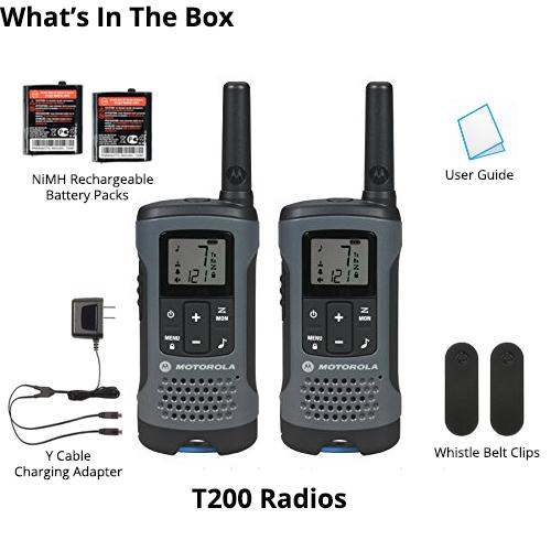motorola t200 10 radios