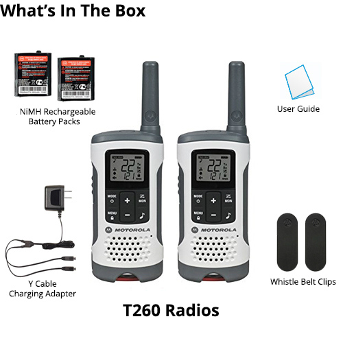 motorola t260 8 radios