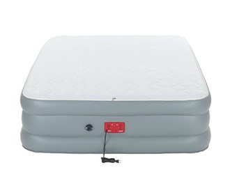 coleman supportrest elite double high quen size airbed
