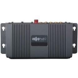 """Product # 000-12302-001 <br /> <ul> <li><span class=""""blackbold"""">SonicHub&reg;2 Marine Audio Server</span></li> <li><span class=""""blackbold"""">Not Waterproof</span></li> <li>NMEA 2000&reg; Control</li> <li><span class=""""bluebold"""">Built-in Bluetooth Connectivity</span></li> <li>No Need for External Dongle</li> <li>Dual Stereo AUX Line Input for Audio</li> <li>4 Channel x 50 Watt Speaker Amplifier</li> </ul>"""