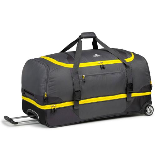 high sierra sportour 34 in drop bottom wheeled duffel