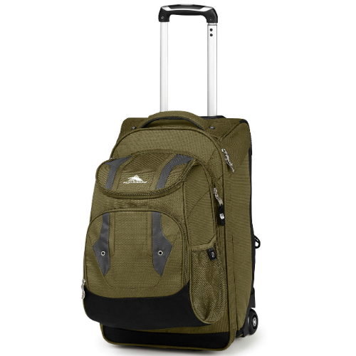high sierra adventure access carry on wheeled backpack