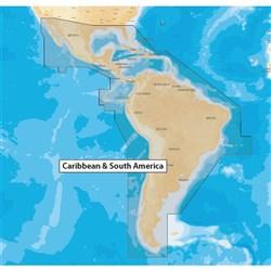 "Product # MSD/NAV+3XG (microSD&trade; Card) <ul> <li><span class=""blackbold"">Caribbean &amp; South America Marine Chart</span></li> <li>SonarChart</li> <li>Community Edits</li> <li>High Definition Layer</li> </ul>"
