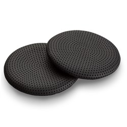 "Product # 89862-01 <ul> <li><span class=""blackbold"">Blackwire Ear Cushion</span></li> <li><span class=""bluebold"">Seals Off Background Noise</span></li> <li>Leatherette Material</li> <li>Provides Comfort on the Ear</li> <li>Leather Cushion</li> <li>Easy to Wear</li> </ul>"