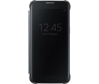 samsung s view flip cover clear for s7