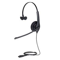 "Product # 1513-0157 <br /><br /> <ul> <li>Over the Head Headset</li> <li><span class=""redbold"">Noise Canceling Microphone</span></li> <li>Single Earpiece</li> <li>Crystal Clear Sound</li> <li><span class=""bluebold""> HD Voice For Better Sound Experience</span></li> <li>Foam Ear Cusions to Keep Ears Cool</li> <li><span class=""blackbold""> Simple Call Management</span></li> <li><span class=""bluebold""> Peakstop™</span> to protect from Harmful Loud Sounds</li> <li>QD Connectivity</li> <li><span class=""redbold""> 270 Degree</span> Boom Arm</li> </ul>"